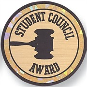 Student Council  Award Mylar Decal Insert